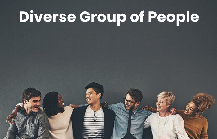 diverse group of people