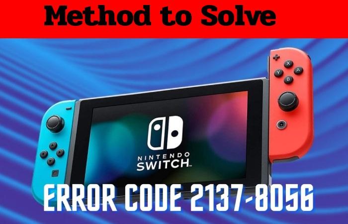 error code 2137- 8056