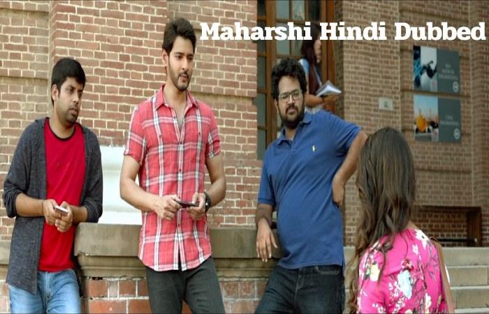 maharshi hindi dubbed